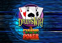 Pyramid Poker: Deuces Wild